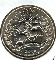 2006 P NEVADA STATE QTR FROM MINT SET MIGHT SELL ON 1ST BID
