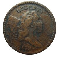 HALF CENT/PENNY 1794 COHEN-9, RARITY-2, LATE DIE STATE