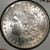 1899-O MORGAN DOLLAR, CHOICE UNCIRCULATED, ORIGINAL BU COIN - ON SALE   0420-10