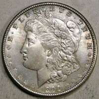 1900 MORGAN DOLLAR, CHOICE UNCIRCULATED, ORIGINAL TONED COIN     0305-77