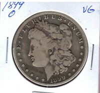 1899-O MORGAN SILVER DOLLAR GRADES  GOOD SHIPS FREE C2923