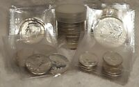 $20.00 FACE VALUE 90  SILVER PRE 1965 US COINS   ALL AU TO B