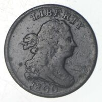 1800 DRAPED BUST HALF CENT   JEFFERSON COIN COLLECTION  710