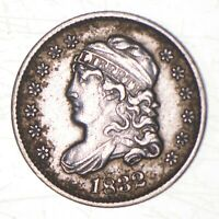 1832 CAPPED BUST HALF DIME   CHARLES COIN COLLECTION  541