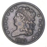 1834 CLASSIC HEAD HALF CENT   CHARLES COIN COLLECTION  353