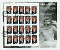 U.S. USED MINISHEET SELECTIONS: SCOTT 3523 LEGENDS OF HOLLYW