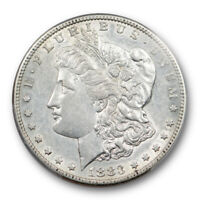1883 S $1 MORGAN DOLLAR PCGS AU 50 ABOUT UNCIRCULATED BETTER DATE LOOKS BETTER