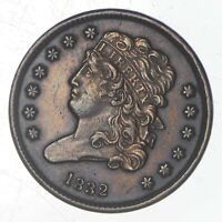 1832 CLASSIC HEAD HALF CENT   JEFFERSON COIN COLLECTION  725
