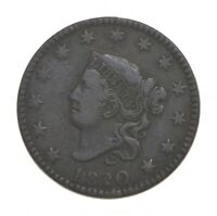 BETTER 1820 MATRON HEAD   US LARGE CENT PENNY COIN COLLECTIO
