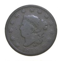 BETTER 1819 MATRON HEAD   US LARGE CENT PENNY COIN COLLECTIO