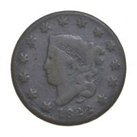 BETTER 1822 MATRON HEAD   US LARGE CENT PENNY COIN COLLECTIO