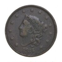 BETTER 1834 MATRON HEAD   US LARGE CENT PENNY COIN COLLECTIO