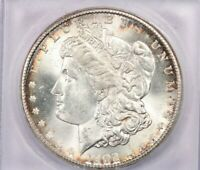 1902-S 1902 MORGAN SILVER DOLLAR ICG MINT STATE 64 BEAUTIFUL COIN LOOKS MINT STATE 65 GREAT COLOR