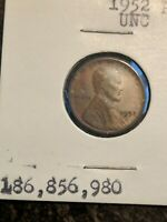 1952 P LINCOLN WHEAT CENT PENNY SHIPS FREE