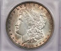 1893-O 1893 MORGAN SILVER DOLLAR S$1 ICG AU58 SWEET COIN A REAL BEAUTY