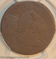 1794 S45 R5 LIBERTY CAP LARGE CENT HEAD OF 1794 PCGS AG3 EX-HERITAGE  COIN