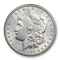 1898 S $1 MORGAN DOLLAR ANACS AU 55 ABOUT UNCIRCULATED TO MINT STATE BETTER DATE
