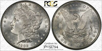 1902 S $1 MORGAN DOLLAR PCGS MINT STATE 63 UNCIRCULATED BETTER DATE BLAST WHITE & LUS
