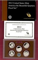 2012 S ATB PARK QUARTER PROOF SET IN OGP MIGHT SELL ON 1ST B