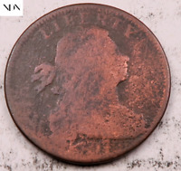 1797 DRAPED BUST LARGE CENT   123