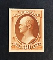 1887 88 SC217 P4 30C US TRIAL COLOR DIE AND PLATE PROOFS