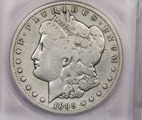 1895-S 1895 MORGAN SILVER DOLLAR S$1 ICG G06 DETAILS CLEANED