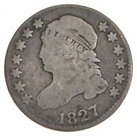 1827/7 CAPPED BUST DIME 7340