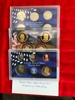 2008 PROOF SET  PRESIDENTIAL DOLLARS STATE QUARTERS& PROOF 1