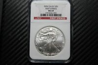 2006 SILVER EAGLE NGC MINT STATE 69 FIRST STRIKE 46092