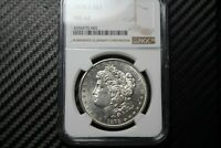 1878 S MORGAN SILVER DOLLAR NGC MINT STATE 62 70002