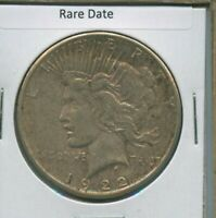 1922 S PEACE DOLLAR $1 US MINT COIN  DATE SILVER COIN 1922-S