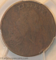 1793 S4 R3 CHAIN LARGE CENT PERIODS AMERICA PCGS VG10 STARTS 1C