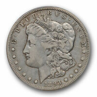 1893 O $1 MORGAN DOLLAR PCGS VF 25  FINE TO EXTRA FINE BETTER DATE