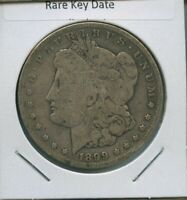 1899 S MORGAN DOLLAR $1 US MINT  KEY DATE SILVER COIN 1899-S