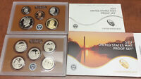 COMPLETE 10 COIN 2017 UNITED STATES CLAD MINT PROOF SET WITH