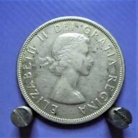 CANADIAN 80  SILVER DOLLAR COIN 1957 GOOD CONDITION  SEE PIC