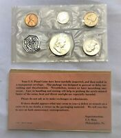 1963 US 90  SILVER PROOF SET WITH ORIGINAL ENVELOPE & COA