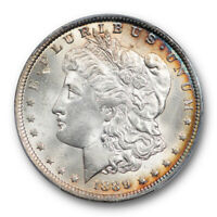 1889 O $1 MORGAN DOLLAR PCGS MINT STATE 63 UNCIRCULATED ATTRACTIVE TONED BEAUTY