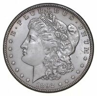1892-CC MORGAN SILVER DOLLAR 5391