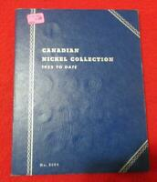 CANADIAN CIRCULATED NICKELS 1922 1957 IN WHITMAN ALBUM. NO 2