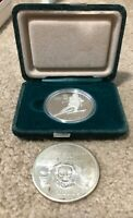 CANADIAN OLYMPIC SILVER   CALGARY 1988 $20 SKIING AND ZEUS M