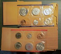 1959 UNITED STATES MINT SET   P AND D   FLASHY COINS  SLIGHT