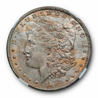 1892 O $1 MORGAN DOLLAR NGC MINT STATE 64 UNCIRCULATED NEW ORLEANS MINT TONED ORIGINAL