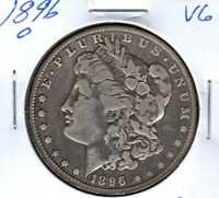 1896-O MORGAN SILVER DOLLAR GRADES  GOOD  C4603