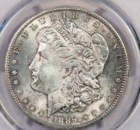 1889-S 1889 MORGAN SILVER DOLLAR $1 PCGS MINT STATE 63