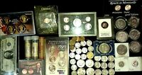 COIN COLLECTION LOT   AMERICAN MINT   US MINT VARIETY OF SIL