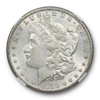 1899 S $1 MORGAN DOLLAR NGC AU 55 ABOUT UNCICULATED BETTER DATE ATTRACTIVE