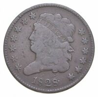 1828 CLASSIC HEAD HALF CENT   JACOBS COIN COLLECTION  539