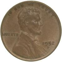 1952 D LINCOLN WHEAT CENT EXTRA FINE PENNY EXTRA FINE