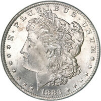 1883 O MORGAN SILVER DOLLAR CHOICE BU US MINT COIN SEE PICS E617